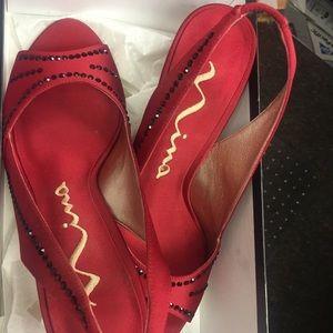 Nina Red Luster shoe